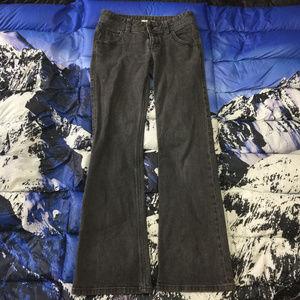 Cabi Charcoal Black Bootcut Denim Jeans Size 4